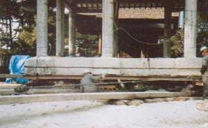 福山八幡宮(拝殿)-1