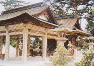 福山八幡宮(拝殿)-2